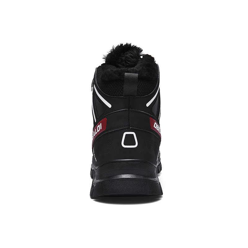 Sneakers chaussures bottes 2019 hiver hommes pleine Sport pour neige de de hommes chaud homme de pour mode doublé neige chaussures fourrure chaussures xWQdoerCBE