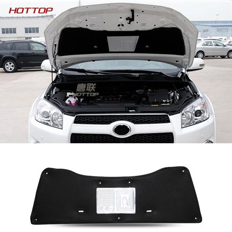 1 pièces pour Toyota RAV4 2009-2012 capot de voiture isolation phonique et thermique tapis en coton résistant à l'ire couvercle garniture accessoires