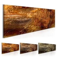 Arte abstracto moderno con textura Vintage póster lienzo pintura arte de pared cuadros de pared para sala de estar hogar Oficina Decoración (sin marco)