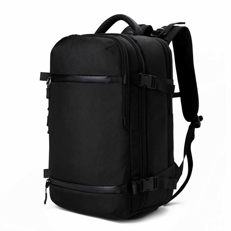 OZUKO Backpack Men travel pack Waterproof Bag laptop Male school Luggage USB Large Capacity Multifunctional Women Anti theft