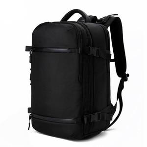 Image 1 - OZUKO sac à dos hommes voyage pack étanche sac ordinateur portable mâle école bagages USB grande capacité multifonctionnel femmes antivol