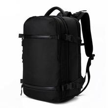 Рюкзак ozuko для мужчин, дорожная водонепроницаемая сумка для ноутбука, мужской школьный чемоданчик с USB большой вместимостью, многофункциональная Женская Противоугонная сумка