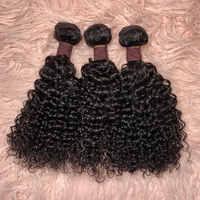 TOOCCI 3 In1 Curly Hair 3 Bundles Virgin Unprocessed  Mongolien  Bundles Human Hair Bundles Whosaler Vendor Tissage bresilien