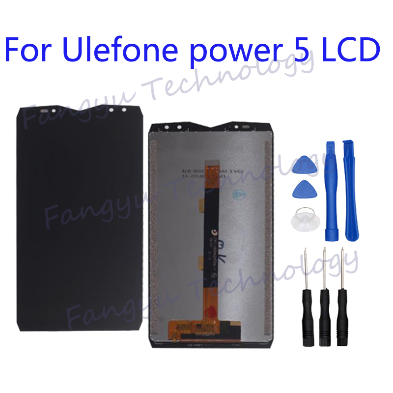 Original for <font><b>Ulefone</b></font> <font><b>power</b></font> <font><b>5</b></font> LCD DISPLAY+Touch <font><b>Screen</b></font> Digitizer Replacement For <font><b>Ulefone</b></font> <font><b>power</b></font> <font><b>5</b></font> LCD <font><b>Screen</b></font> +tools for reparing image