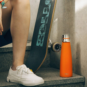 Image 3 - Youpin Vacuum Bottle 24h Insulation Thermoses Stainless Steel Thermos Flask Travel Sport Mug 475ML OLED Temperature Cup