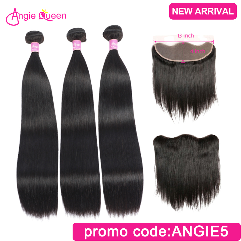 Straight Bundles With Closure Frontal Malaysian Hair Bundles With Forntal Remy Hair Closure With Bundles 4 Bundles With Closure