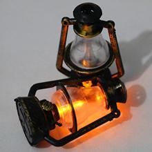 Кукольный домик миниатюра ретро фонарь стилизованный под керосиновую лампу игровой сцены, украшения дома лампы Декор Аксессуары наборы иг...
