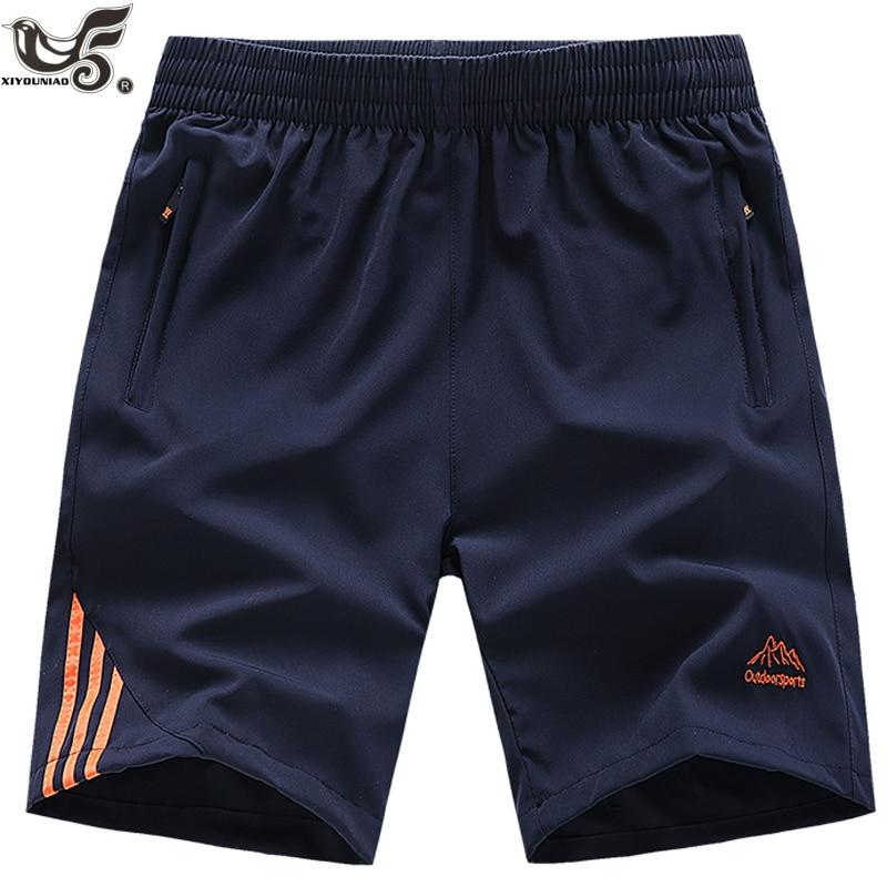 XIYOUNIAO Plus Size L~8XL 9XL Mens Shorts Fitness Bodybuilding Casual Gyms Joggers Sportswear Brand Short Pants Sweatpants