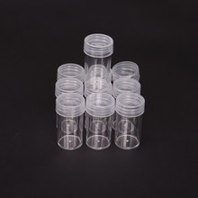 5/10/30/60/90/120 garrafas acessórios de pintura diamante transparente recipiente caso diamante bordado contas caixa armazenamento organizar