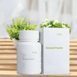 Fosfato de cloroquina C18H26CIN3.2H3PO4 0,25g * 100