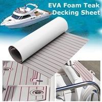 120x240cm Self-Adhesive Foam Teak Decking EVA Foam Marine Flooring Faux Boat Decking Sheet Accessories Marine