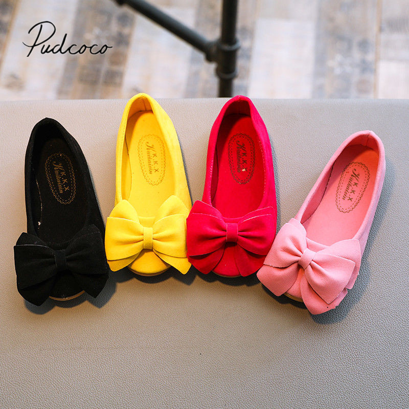 New Fashion Children Princess Dance Shoes Kids Girl Dress Party Shoes Flats Casual Single First Walkers Soft Slip-on
