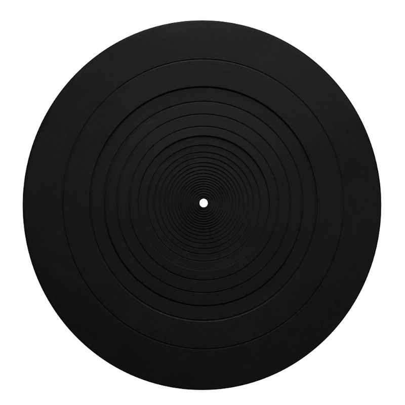Silicone Pad Rubber Anti-vibration LP Antislip Mat for Phonograph Turntable Vinyl Record Players Accessories