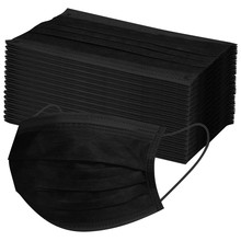 10 20 30 40 50 100 300 400 500 600pcs czarny jednorazowe pielęgnacja twarzy przemysłowe 3ply pętla do uszu regulowane akcesoria opieki zdrowotnej tanie tanio Kieszeń Multi Tools Drop Shipping mascarillas mouth mask disposable mask maska antywirusowa