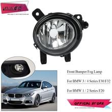 ZUK Front Halogen Fog Lamp Light For BMW 2012 2017 F30 F32 320 325 328 420 425 430 For F20 F22 118 120 218 220 225 Universal