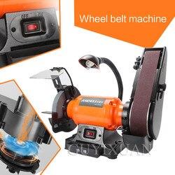 Tarcza ścierna maszyna taśmowa pulpit tarcza ścierna maszyna do ostrzenia polerka szlifierka taśmowa maszyna do obróbki drewna