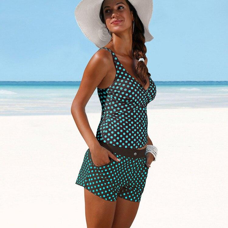 2019 European And American-Style New Style WOMEN'S Sexy Swimsuit Polkadot Bikini Sports Swimsuit Bikini