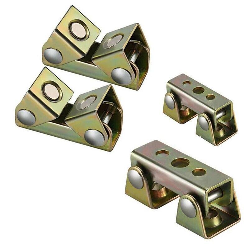 20Pcs V Type Welding Jig Adjustable Magnetic Welding Clamps V Pads Fixture Holder Strong Welder Hand Tool
