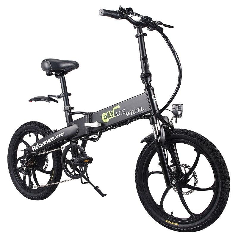 Folding bike Aluminum Electric electric Bicycle 20inch 400W Powerful Mottor 48V10A Battery 32km/h Mountain e bike city/Snow bike 5