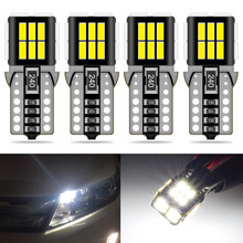 4x T10 Car License Plate Light W5W 168 194 192 Canbus LED For Toyota Corolla Rav4 Avensis Yaris Auris Hilux Prius Camry C-HR
