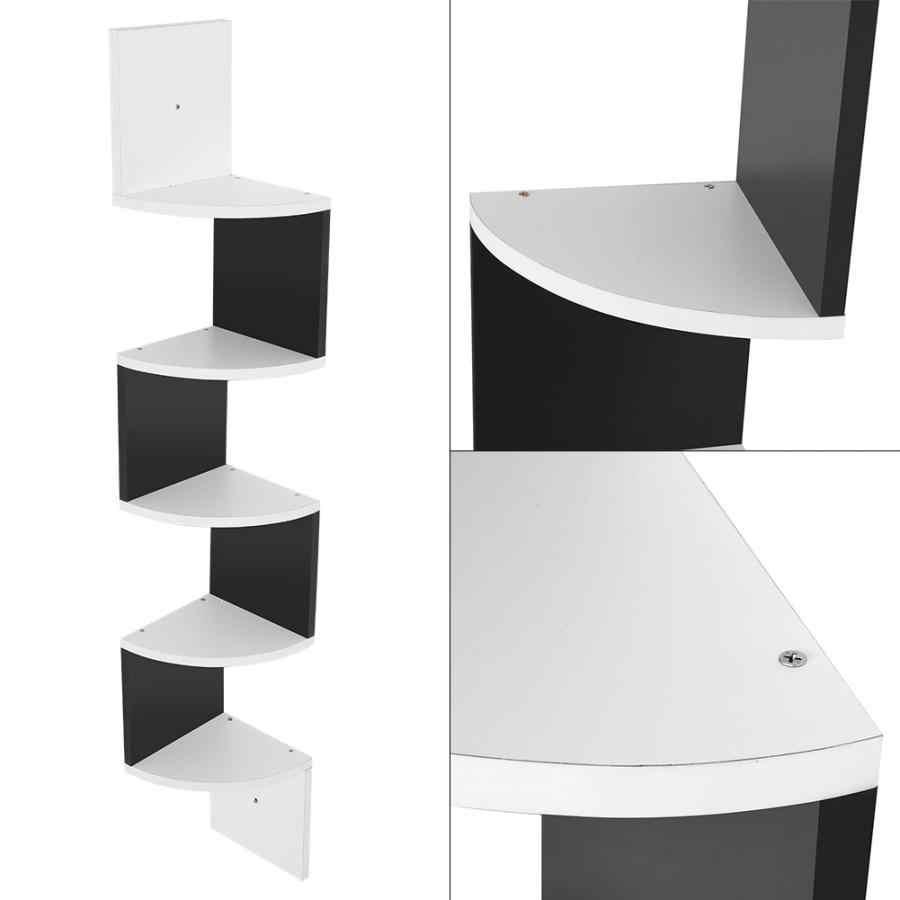 etageres d angle murales a 5 niveaux meuble de rangement pour la maison