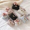 Meninas Mensageiro Saco Novo Bonito Bolsa de Ombro Decorativo Mini Princesa 100 Criança Saco de Correspondência