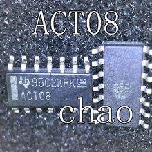 5 шт./лот ACT08 SN74ACT08DR лапками углублением SOP-14