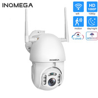 INQMEGA WIFI Camera Outdoor PTZ IP Camera 1080P Speed Dome CCTV Security Cameras IP Camera WIFI Exterior 2MP IR Home Surveilance