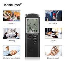 Gravador de voz de usb 8gb 16gb 32gb caneta de gravação 96 horas ditaphone gravador de entrevista de áudio digital com wav mp3 player rec