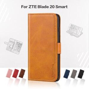 Flip Cover For ZTE Blade 20 Sm