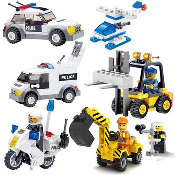 Lepin Technic City Action Figure Cars Blocks DIY Развивающие игрушки для детей Minecraft мотоцикл модель набор игрушки для мальчиков