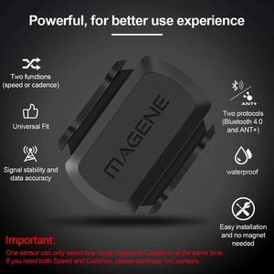 Image 2 - MAGENE gemini 210 S3+ Speed Sensor cadence ant+ Bluetooth for Strava garmin bryton bike bicycle computer speedometer