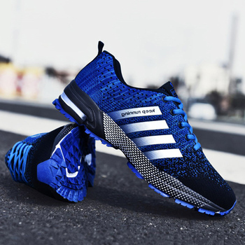Eihort 2020 Fashion Men Shoes Portable Breathable Running Shoes Large Size Sneakers Comfortable Walking Jogging Casual Shoes 48