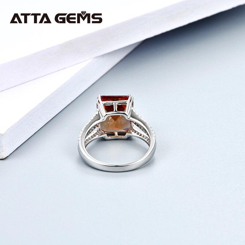 Diaspore prata esterlina anéis mulheres jóias finas