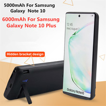 6000mAh Ultra Slim Backup Power Bank Cases For Samsung Note 10 Power Case External Battery Cases for Samsung Galaxy Note 10 Plus