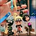 Аниме брелок с символикой Наруто мультфильм Sasuke Itachi кукла Kakashi Подвесные брелки для ключей акриловый брелок сумка для реквизита подвесных а...