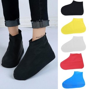 Silicone Rain Cover For Shoe Traveling Outdoor Portable Reusable Silicone Shoe Cover Overshoes Unisex Shoes Accessories