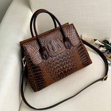 Fashion Women Crossbody Bag Crocodile Bags Soft Leather Shou