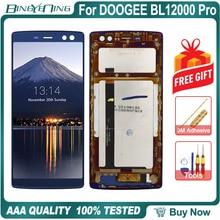 100% Original pour DOOGEE BL12000 Pro LCD et écran tactile numériseur avec cadre écran module réparation accessoires de remplacement