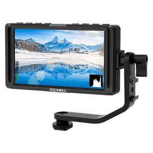 FEELWORLD F5 5 Inch DSLR on Camera Field Monitor Small Full HD 1920X1080 IPS Video Peaking Focus Assist
