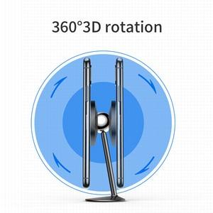 Image 5 - Baseus soporte magnético de teléfono de coche, soporte de coche magnético, soporte de teléfono universal giratorio de 360 grados con pegatinas de 3M