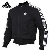 Original Adidas MA1 PADDEN Mens Black Down coat Hiking Outdoors Down Sportswear