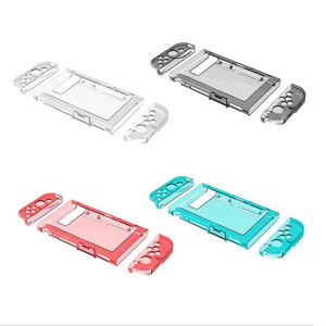 Image 1 - Crystal Transparent Clear PC Hard Case Protective Cover Shell for Nintend Switch Console Joy Con Controller Full Body Protector