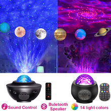 Led Star Galaxy Starry Sky Projector Night Light Built-in Bluetooth Speaker For Bedroom Decoration Child Kids Birthday Present cheap Ball CN(Origin) ROHS Night Lights Switch HOLIDAY