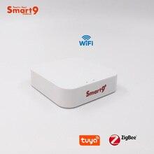 Minihub ZigBee Smart9 con Wifi, centro de Control inteligente para el hogar que funciona con la aplicación Smart Life, funciona con TuYa
