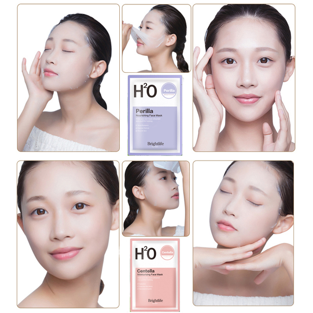 Original Korean Face Mask Moisturizing Hydrating Treatment mask Facial Sheet Mask Anti Aging Whitening Skin Care Cosmetics 4