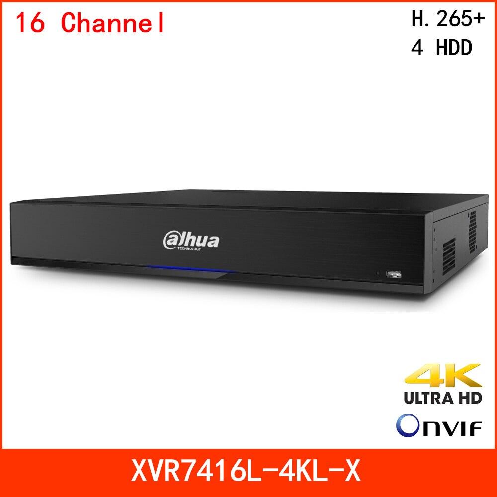 Dahua 4K H.265+ 16 Channel Video Surveillance XVR Recorder HDCVI/AHD/TVI/CVBS Auto-detect Smart Fan Face Detection And IVS