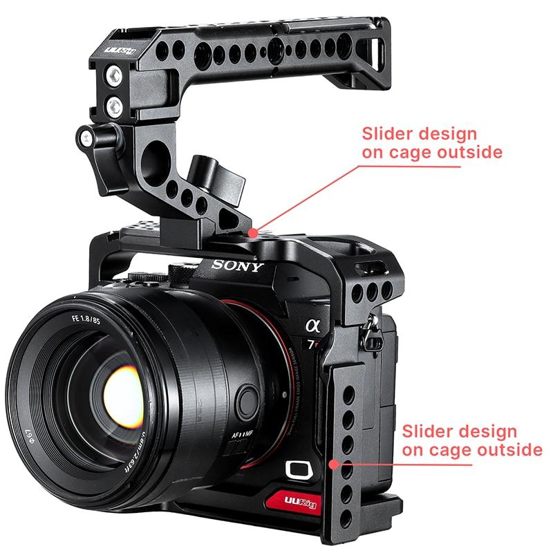 UURig C-A73 камерасы Sony a7iii A7R3 A7M3 - Камера және фотосурет - фото 5