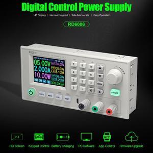 Image 1 - RD RD6006 RD6006W USB واي فاي تيار مستمر تيار مستمر الجهد الحالي تنحى وحدة امدادات الطاقة باك محول جهد كهربي الفولتميتر 60 فولت 6A
