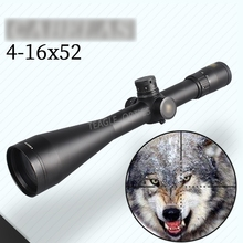 цена на Hunting Scope 4-16X52 SF Riflescope with Red Dot with 11mm or 20mm Mount Rifle Scope